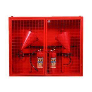Щит металлический закрытого типа в комплекте Пожарные щиты в Шымкент