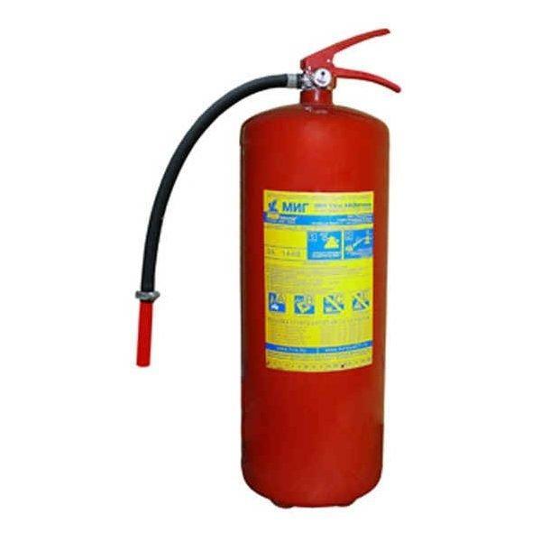 Огнетушитель воздушно-пенный ОВП-10 морозостойкий для первичного способа тушения пожара в быту в Шымкенте