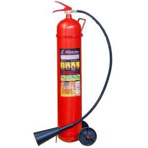 Огнетушитель углекислотный ОУ-10 для тушения возгораний веществ в Шымкенте