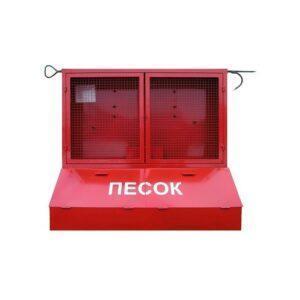 Щит металлический закр. типа с ящиком для песка без комплекта Пожарные щиты в Шымкенте