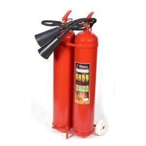 Огнетушитель ОУ-20 (2-х балонный) для тушения возгораний веществ в Шымкенте